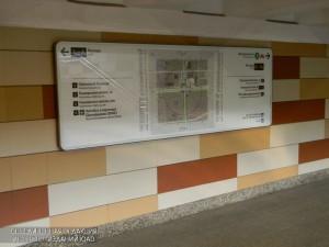 Система навигации в московском метро