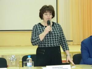 Глава управы Валентина Козельская