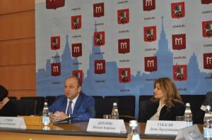 Руководитель Департамента национальной политики и межрегиональных связей Москвы Виталий Сучков