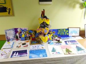 Выставка детских поделок в Южном