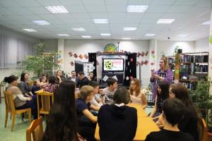 Тематический вечер, посвященный завершению Года российского кино