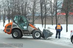 Уборка снега в ЮАО