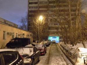 Отремонтированный фонарь по адресу: Воронежская улица, дом 24