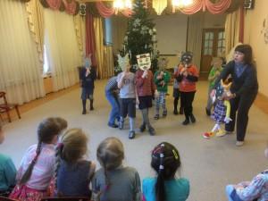 В гимназии №1636 «Ника» отметили праздник народного календаря Святки