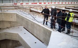 Мэр Москвы Сергей Собянин заявил, что московские метростроевцы впервые применили уникальный тоннелепроходческий щит