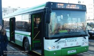 Автобус в Орехове-Борисове Южном