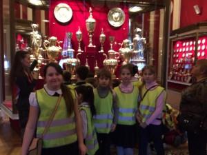 Третьеклассники школы №1636 «Ника» посетили Оружейную палату