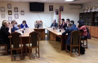 Заседание Совета депутатов в районе Орехово-Борисово Южное
