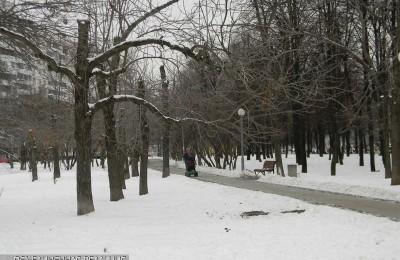 Парк в районе Орехово-Борисово Южное