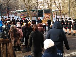 Митинг, посвященный 74-ой годовщине Сталинградской битвы