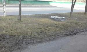 Улица после уборки