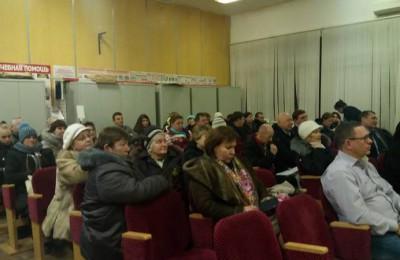 Встреча главы управы с жителями в районе Орехово-Борисово Южное