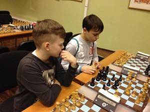 Участники  Московской весенней спартакиады по шахматам