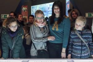 Школьники Москвы на выставке