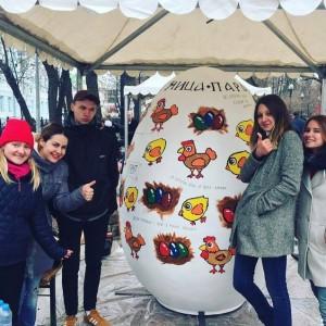 Художники района Орехово-Борисово Северное на фестивале «Пасхальный дар»