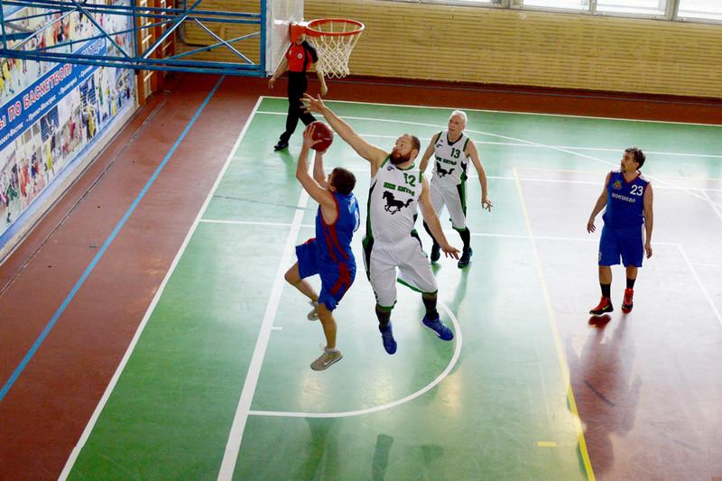ВЮАО закончится Чемпионат столицы среди баскетболистов старше 35 лет