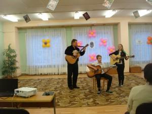 Концерт в библиотеке №155