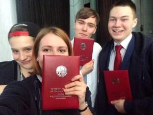 На фото: Дарья Тюрина с друзьями