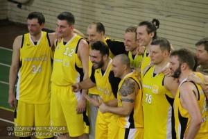 Команда баскетболистов