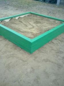 Новая песочница в районе Орехово-Борисово Южное