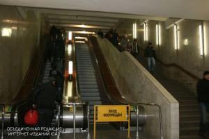 Эскалаторы на станции метро «Домодедовская»