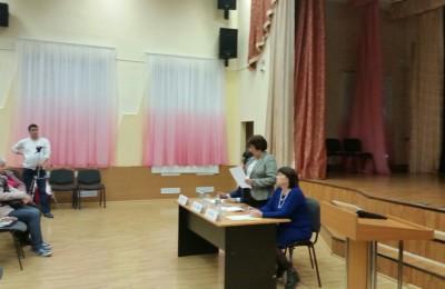 Встреча главы управы с жителями