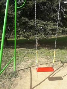 Отремонтированная детская площадка в районе Орехово-Борисово Южное