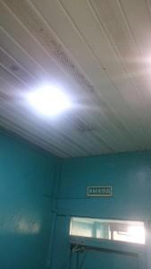 Отремонтированное освещение