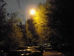Освещение в районе Орехово-Борисово Южное
