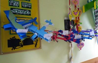 """Выставка моделей самолетов в центре """"Южный"""""""