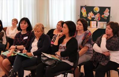 Школа №896 поделилась опытом работы с коллегами