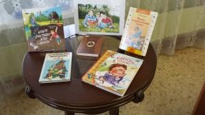 Книжная выставка в библиотеке №155