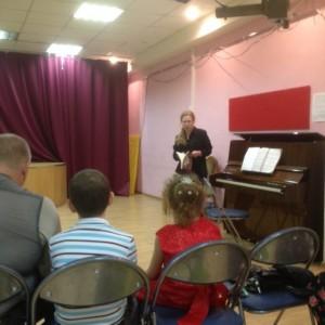 Концерт классической музыки в библиотеке №152