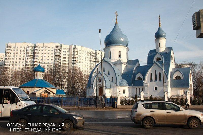 Храм в районе Орехово-Борисово Южное