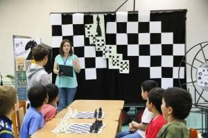 Шахматный турнир в библиотеке №149