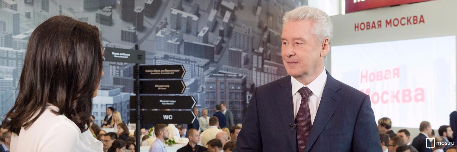 Собянин открыл северный вестибюль станции МЦК «Кутузовская»