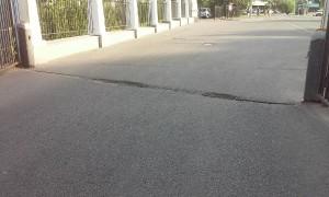 Ямы на Ясеневой улице