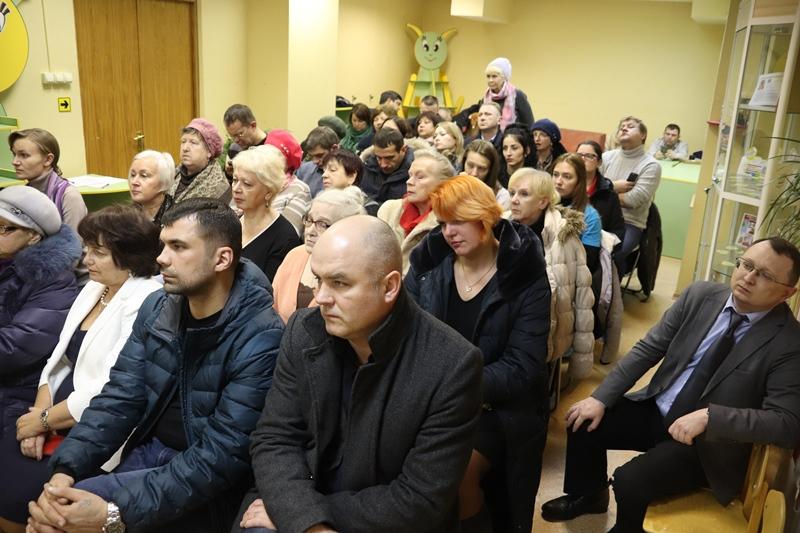 Жители района Орехово-Борисово Южное на публичных слушаниях