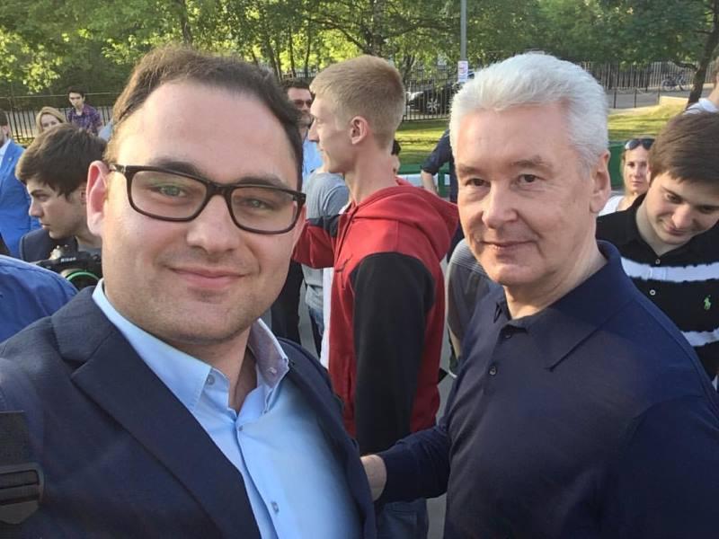Алексей Юдаев и Сергей Собянин