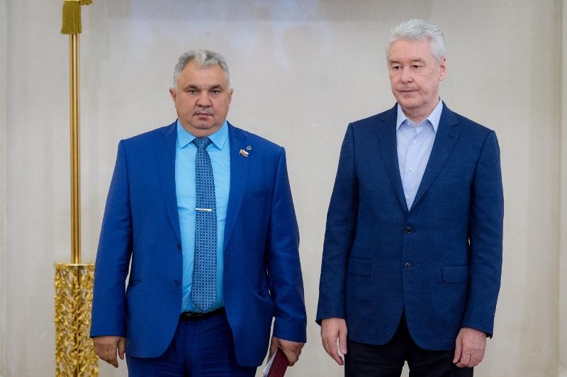 Андрей Яшкин и Сергей Собянин
