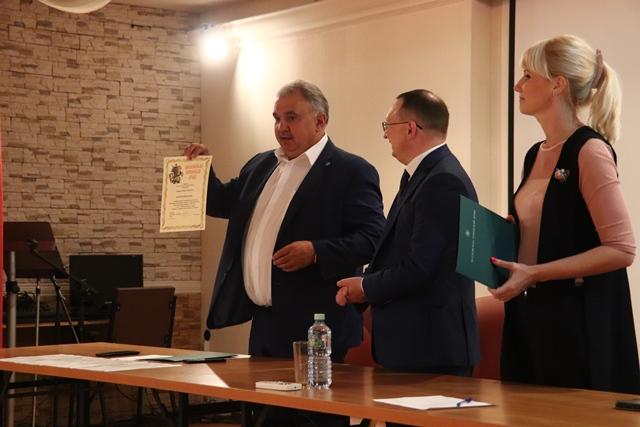 Вручение благодарственных писем от депутата Московской городской Думы Степана Орлова