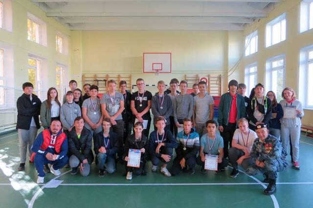 Спортсмены из школы № 1636