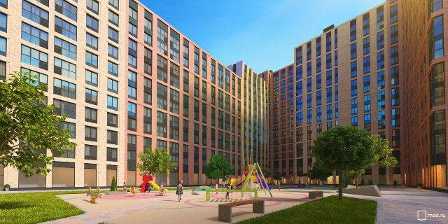 Проектное решение строительства нового жилого комплекса