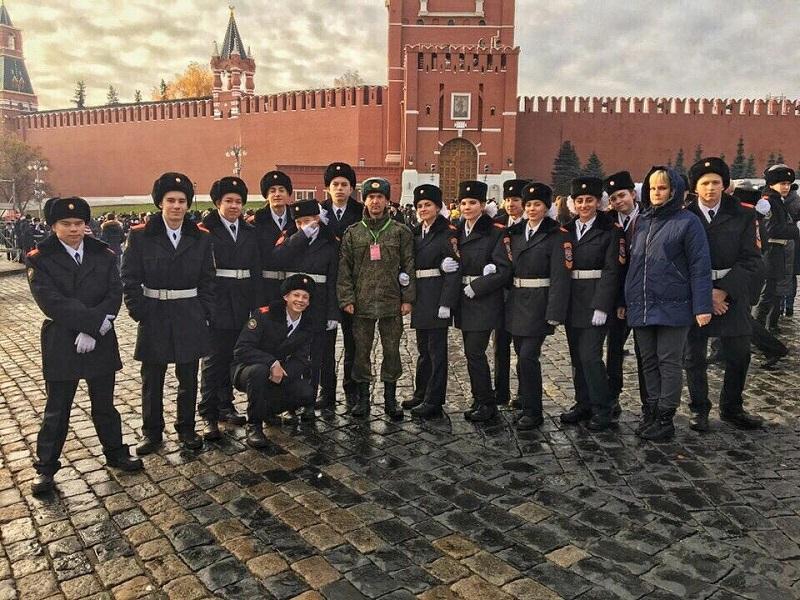 Ученики кадетских классов школы № 1207