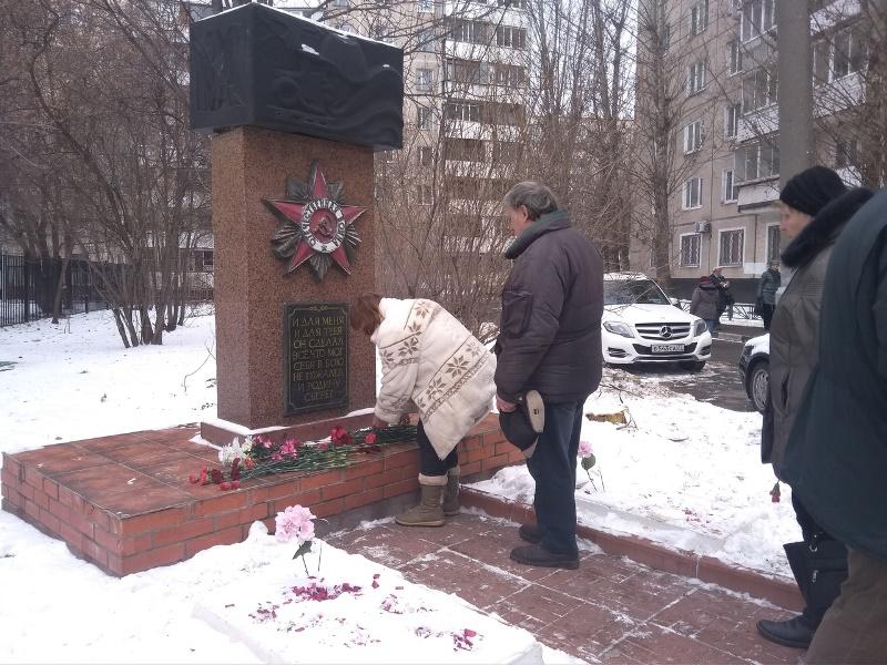 Митинг, посвященный Битве под Москвой