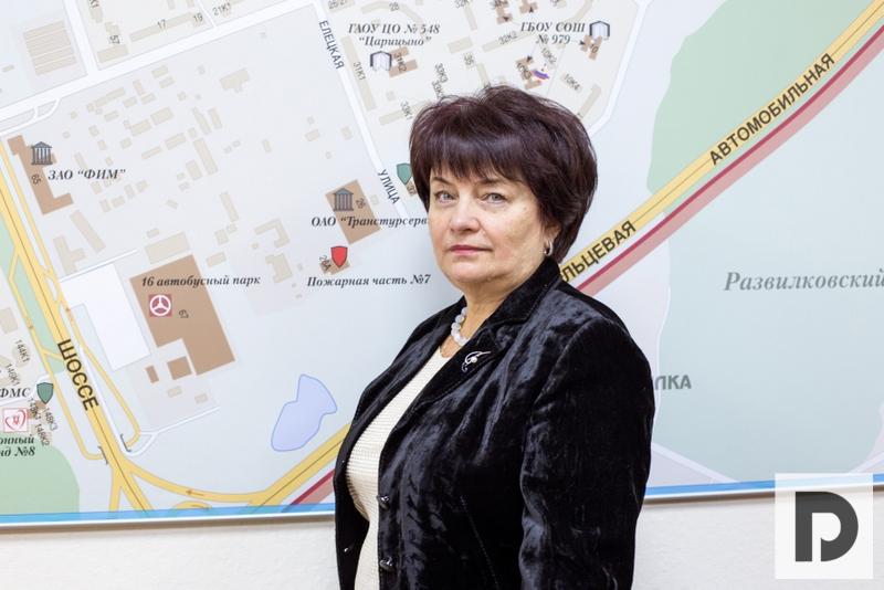 Козельская Валентина Дмитриевна, глава управы