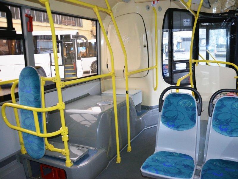 Мосгортранс, филиал Южный, автобусы, новые автобусы, салон автобуса, Лиаз