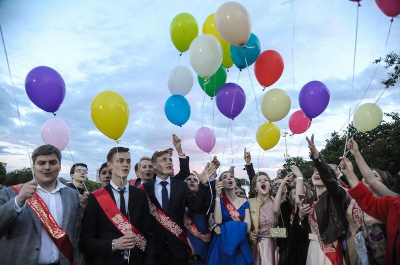 выпускной в Москве, выпускники, мосру