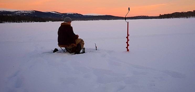 рыбалка, зимняя рыбалка, московское долголетие