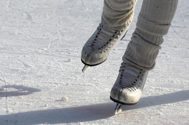 коньки, лед, каток, пиксабай